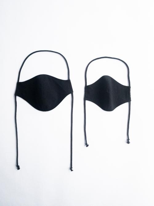 Organic black face masks